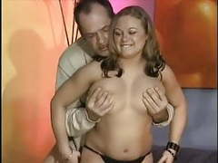 Young german chubby get pounded by old man movies at kilogirls.com