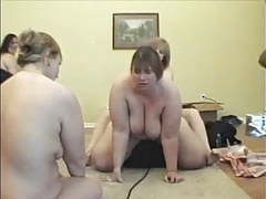 Bbw hippy chick and other bbw's on sybian videos