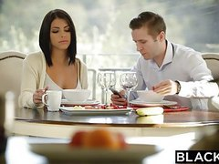 Blacked brunette adriana chechik takes trio of bbcs videos