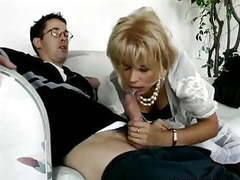 Blonde milf buttsex with young man videos