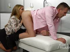Family rimjob - girlsrimming  : the wife movies at kilovideos.com