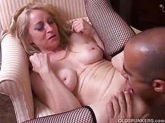 Old spunker gives a sloppy rimjob and gets a sticky facial videos