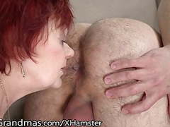 Lustygrandmas bbw redhead gilf rims ass of young stud movies at kilopills.com