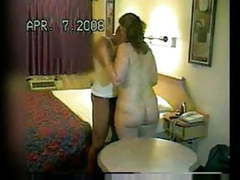 Bbc breeds wife in motel as husband watches movies
