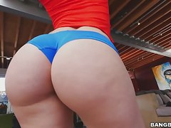 Big ass mandy muse rides bbc clip