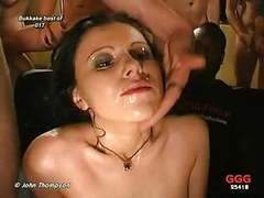 Brunette bukkake slut movies at nastyadult.info