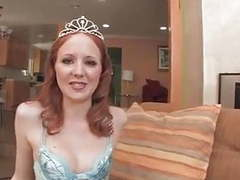 Sweet redhead margan murray hard fuck & swallow cum tubes