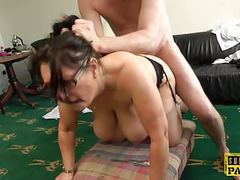 Busty british milf roughly fucked doggystyle movies at find-best-tits.com