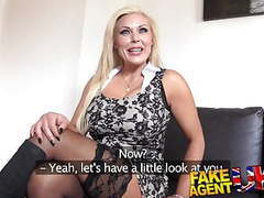 Fakeagentuk sexy blonde milf gets a good fucking in casting movies at find-best-lingerie.com