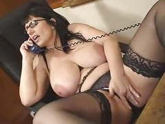 British josephine james talks dirty on the phone movies at freekiloporn.com