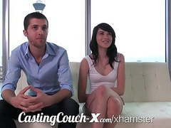 Casting couch-x high school sweethearts start in porn movies at freekilosex.com