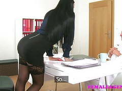 Femaleagent vs fake hospital dirty doctor fucks sexy agent videos