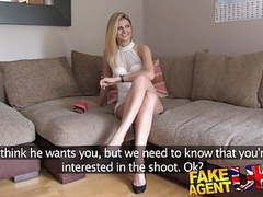 Fakeagentuk orgasms anal sex and squirting in interview videos