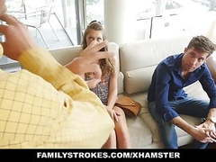 Familystrokes - grounded hide & fuck videos