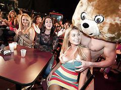 Pretty faces get fucked by the dancing bear movies at find-best-panties.com