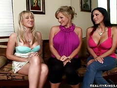 Shy guys fuck pornstars - cfnm secret movies at freekilomovies.com