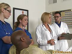 Cfnm busty nurse interracially cumsprayed videos