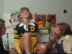 Marilyn chambers as a cheerleader takes on 2 guys videos
