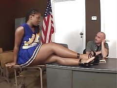 Hottest ebony cheerleader fucking movies at find-best-babes.com