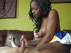 Sassy - ebony cheerleader movies at freekilosex.com