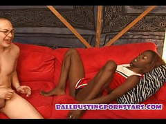 Black teen cheerleader femdom barefoot ballbusting movies at find-best-babes.com