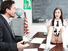 Innocenthigh - cute schoolgirl jade amber fucked by huge coc videos