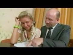 Russian student girl with private teacher . videos