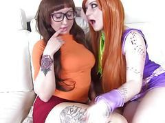 Scooby doo lesbian cosplay videos