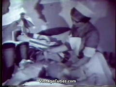 Sexy nurses healing sick patient with sex (1950s vintage) movies at sgirls.net