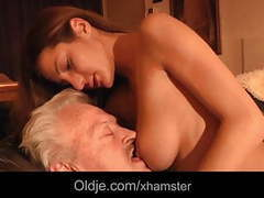 Grandpa fucks young alice in her ass videos