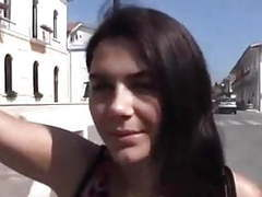 Studentessa italiana scopata all'aperto movies at freekiloclips.com