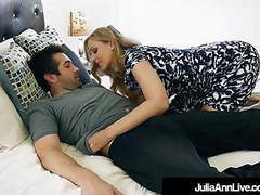 Step mom milf julia ann cummed on face by step son! tubes