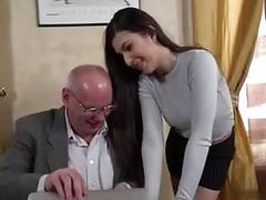Secretary fucks her old boss man tubes