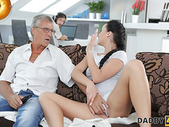 Daddy4k. what would you prefer - computer or your gf? videos