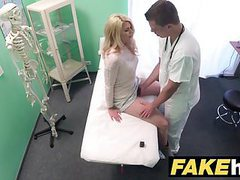 Fake hospital dirty doctor gives blonde czech babe wet pants movies at find-best-ass.com