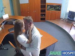 Fakehospital hot sex with doctor and nurse videos