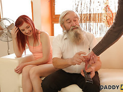 Daddy4k. unexpected experience with an older gentleman. movies at find-best-ass.com
