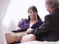 Young kira was feeling pretty horny and even though this movies at find-best-lingerie.com