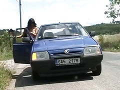 Czech whore sex in car videos