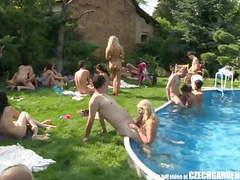 Czech open air sex party videos