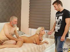 Daddy4k. surprise your girlfriend and she will fuck your dad movies at kilomatures.com