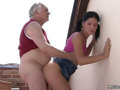 Older man fucking younger woman from behind movies at kilopills.com