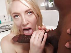 Taking the biggest dick of her life! tubes