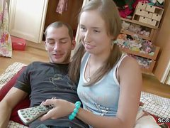 Brother seduce skinny step-sister to lost her virgin now movies at sgirls.net