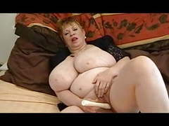 Busty granny dildo videos