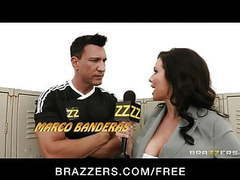 Brazzers - busty sports reported veronica avluv gang-banged movies at freekilomovies.com