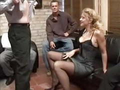 Curly german milf gangbang videos