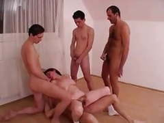 Saggy tits hairy little granny gangbang movies at find-best-videos.com