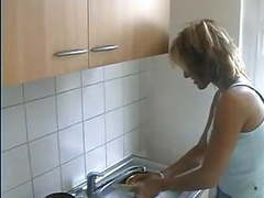 European housewife gets fucked at home movies at kilovideos.com