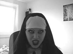 Sexy evil nun lipsync videos